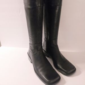 Womens knee high vintage boots